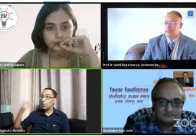 Key Points of Interaction Program With IOE Administration organized by LOCUS, Pulchowk